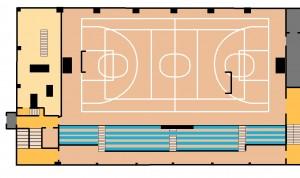 Sporta zāle 1