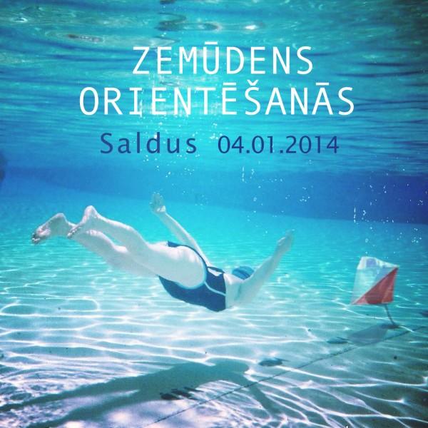 Zemūdens orientēšanās 2014 Saldus